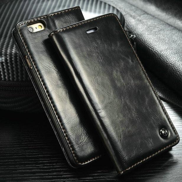 iphone 7 hoesje leer magneet
