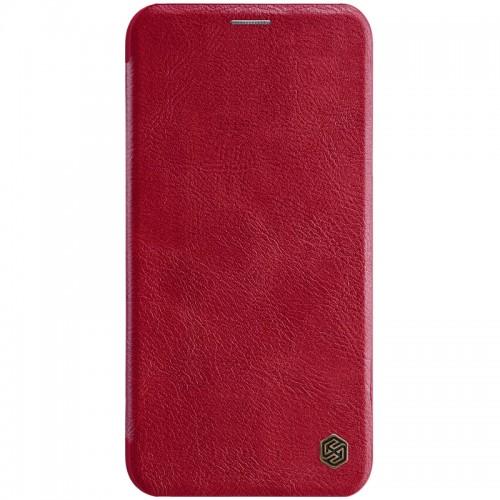 Nillkin Qin iPhone 11 Pro Max leren boekhoesje rood