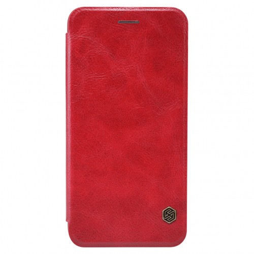 Nillkin Qin iPhone 6 / 6S leren boekhoesje rood