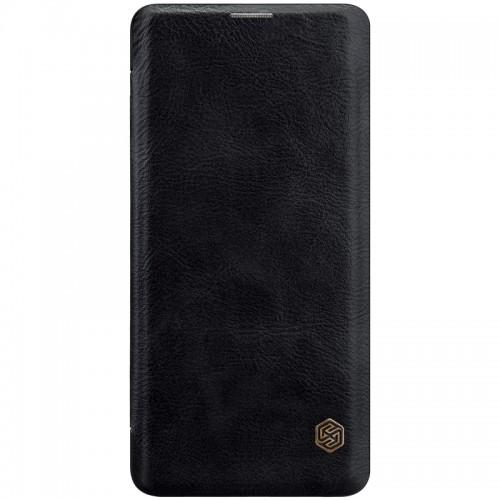 Nillkin Qin Samsung Galaxy S10 leren boekhoesje zwart