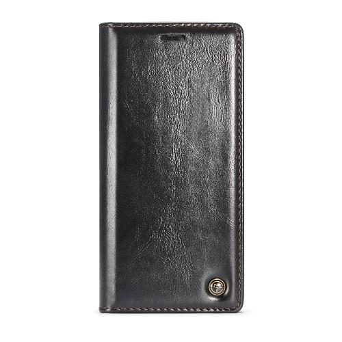 Samsung Galaxy Note 8 rustiek leren boekhoesje zwart