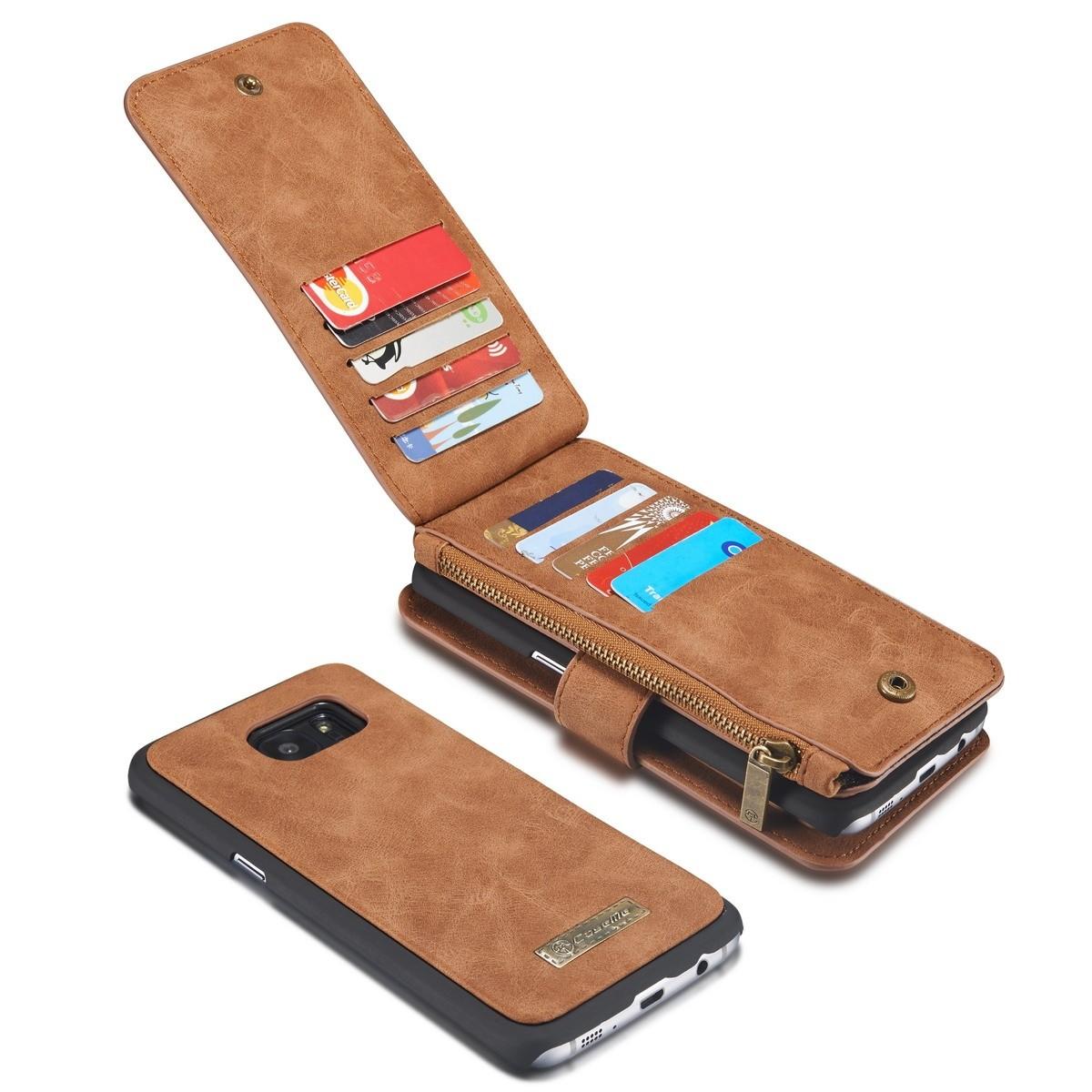 Samsung Galaxy S7 Edge Leren portemonnee hoesje met