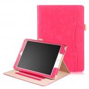 iPad 10.2 (2019 / 2020) / Air 3 10.5 (2019) / Pro 10.5 (2017) leren hoes roze incl. standaard met 3 standen