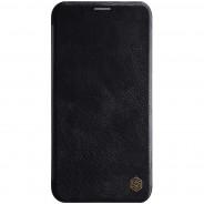 Nillkin Qin iPhone 11 Pro Max leren boekhoesje zwart
