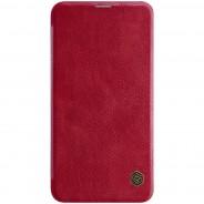 Nillkin Qin Samsung Galaxy S10e leren boekhoesje rood