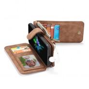 iPhone X / XS Leren portemonnee hoesje met uitneembare telefoon case