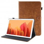 Samsung Galaxy Tab A7 10.4 (2020) leren hoes / case bruin