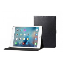 iPad mini 1 / 2 / 3 leren hoes / case zwart