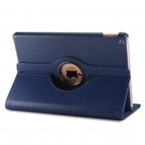 360 graden draaibare iPad 10.2 (2019) case met 2 standen donker blauw
