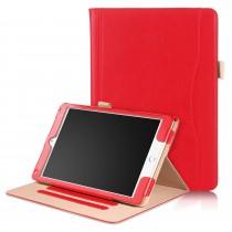 iPad 10.2 (2019) / iPad Air 3 10.5 (2019) / iPad Pro 10.5 (2017) leren case / hoes rood incl. standaard met 3 standen