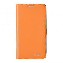 Echt leren hoesje Samsung Galaxy Note 3 oranje