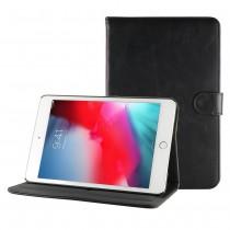 iPad mini 4 / 5 leren hoes / case zwart