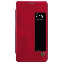 Nillkin Qin Huawei Mate 10 leren boekhoesje rood