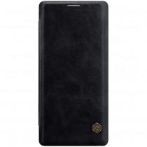 Nillkin Qin Samsung Galaxy Note 9 leren boekhoesje zwart