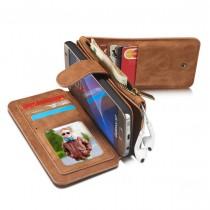 Samsung Galaxy S7 Leren portemonnee hoesje met uitneembare telefoon case