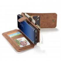 Samsung Galaxy S9+ Leren portemonnee hoesje met uitneembare telefoon case