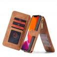 iPhone 11 Pro Leren portemonnee hoesje met uitneembare telefoon case