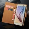 Leren hoesje Samsung Galaxy S7 Edge zwart